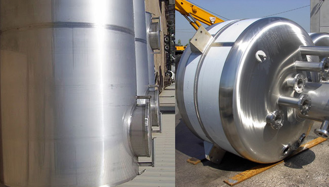 Types of Tanks and vessels , Jacketed , Atmospheric or Pressurized with Mixer